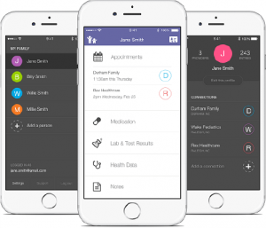 health record app iphone android